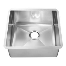 "23.3"" x 20"" Undermount Single Bowl Kitchen Sink"
