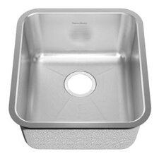 "18.75"" x 16.75"" Undermount Single Bowl Kitchen Sink"