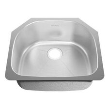 "27.5"" x 22.5"" Undermount Single Bowl Kitchen Sink"