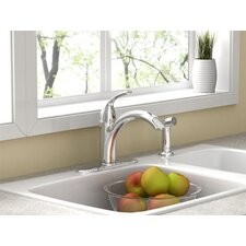 <strong>American Standard</strong> Quince Single Handle Kitchen Faucet with Side Spray