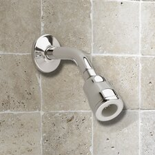 FloWise Water Saving Volume Showerhead with Arm and Flange