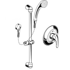 FloWise Commercial Shower System Kit