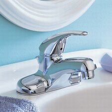 <strong>American Standard</strong> Colony Soft Lever Handle Centerset Bathroom Faucet with Grid Drain