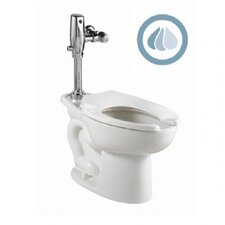 Madera Ada 1.1 GPF / 1.6 GPF Elongated 1 Piece Toilet with Selectronic Dual Flush Flush Valve