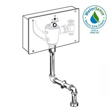 Concealed 0.5 GPF DC Urinal Wrist Blade Flush Valve with Top Spud