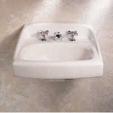 Lucerne Wall Mount Bathroom Sink with Center