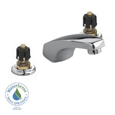 Heritage Widespread Bathroom Faucet with Lever Handle