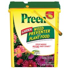 Garden Weed Preventer Plus Plant Food (16 lbs)
