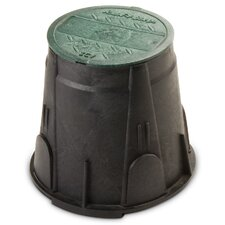 "7"" Round Valve Box with Lid"