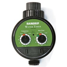 Electric Water Timer in Green / Black