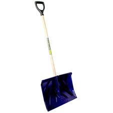 "18"" Poly D Handle Snow Shovel"