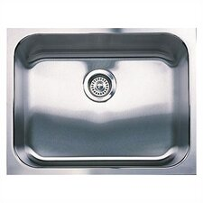 "Spex 23"" x 18"" Plus Single Bowl Undermount Kitchen Sink"
