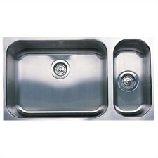 "Spex 32"" x 18"" Bowl Undermount Kitchen Sink"