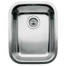 "Supreme 15.56"" x 17.75"" Bowl Undermount Kitchen Sink"