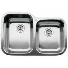 "<strong>Blanco</strong> Supreme 31.31"" x 20.88"" x 10"" Bowl Undermount Kitchen Sink"