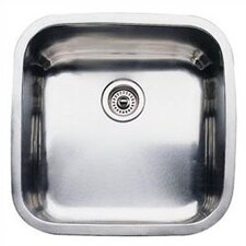 "Supreme 20.5"" x 20.5"" Single Bowl Undermount Kitchen Sink"