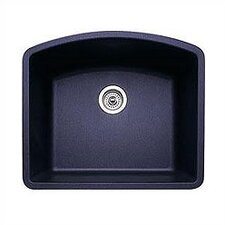 "Diamond 24"" x 20.81"" Single Bowl Undermount Kitchen Sink"