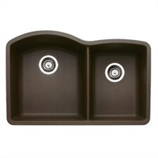"Diamond 32"" x 19"" Bowl Undermount Kitchen Sink"