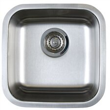 "<strong>Blanco</strong> Stellar 15"" x 15"" Single Bowl Undermount Bar Sink"