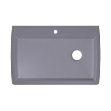 "Diamond 33.5"" x 22"" Super Single Bowl Drop-In Kitchen Sink"