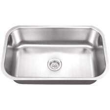 "28"" x 16"" Single Bowl Kitchen Sink"