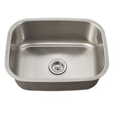 "<strong>Schon</strong> 21.44"" x 15.75"" Single Bowl Kitchen Sink"