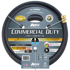 "0.63"" x 600"" All Rubber Comm Duty Hose"