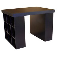 """Project Center 38.5"""" H x 55"""" W Desk with 2 Bookcases"""