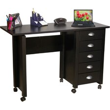 "<strong>Venture Horizon</strong> VHZ Office 43"" W Mobile Craft Computer Desk"