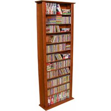 VHZ Entertainment Large Single Multimedia Storage Rack