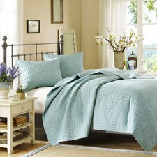 Garden View 3 Piece Coverlet Set