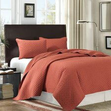 Las Brisas 3 Piece Coverlet Set