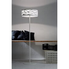 <strong>Studio Italia Design</strong> Grace Floor Lamp with Custom Fabric Diffuser