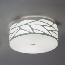 Grace Cylinder Ceiling Fixture with Custom Fabric Diffuser