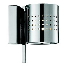 Minimania 1 Light Wall or Ceiling Fixture with Perforated Metal Diffuser