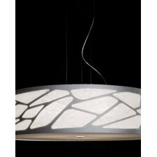 <strong>Studio Italia Design</strong> Grace Cylinder Pendant with Custom Fabric Diffuser