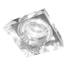 Ice-Cambio Squared Glass Recessed Fixture with Housing