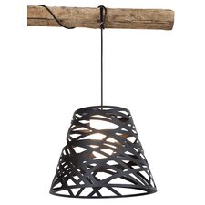 Tornado 1 Light Outdoor Laser Cut Mini Pendant