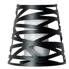 Tornado 1 Light Outdoor Laser Cut Wall Sconce