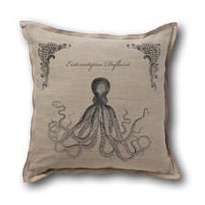 Retro-Futuristic Artifacts Giant Octopus Pillow Cover