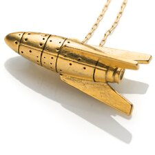 Rocketship Gold Fine Chain