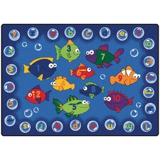 <strong>Carpets for Kids</strong> Literacy Fishing Kids Rug