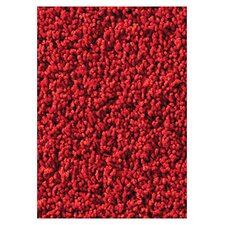 Soft Solids KIDply Red Velvet Kids Rug