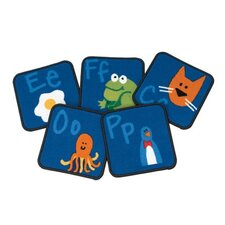 <strong>Carpets for Kids</strong> Literacy Fun with Phonics Kids Rug