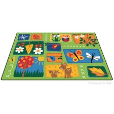 Printed Nature's Toddler Kids Rug