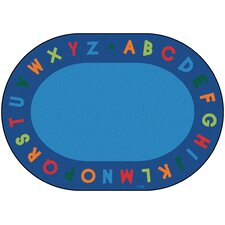 Circletime Alphabet Primary Kids Rug
