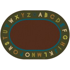 <strong>Carpets for Kids</strong> Circletime Alphabet Nature Kids Rug