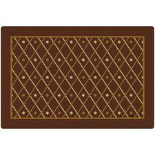 Classic Diamonds Kids Rug