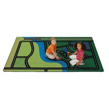 Transportation Fun Kids Rug