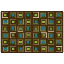 Squares Seating Kids Rug